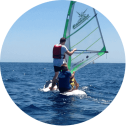 Blind wind surfing