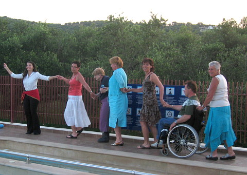 accessible-holidays-greece-crete-eria-resort-group-activities