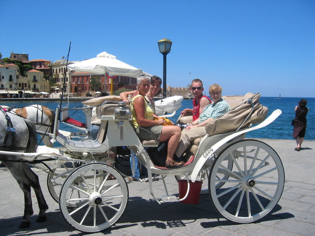 accessible-holidays-greece-crete-eria-resort-horse-carriage-excursions-city
