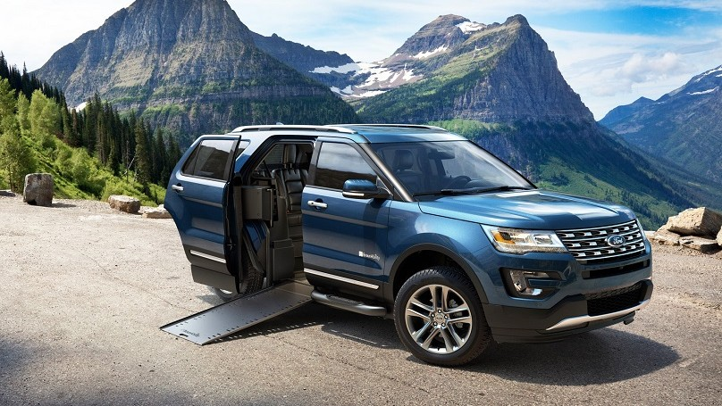 Ford has created the first volume production wheelchair accessible suv