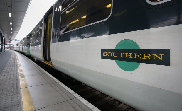 Southern Railway train-Travelling with a disability