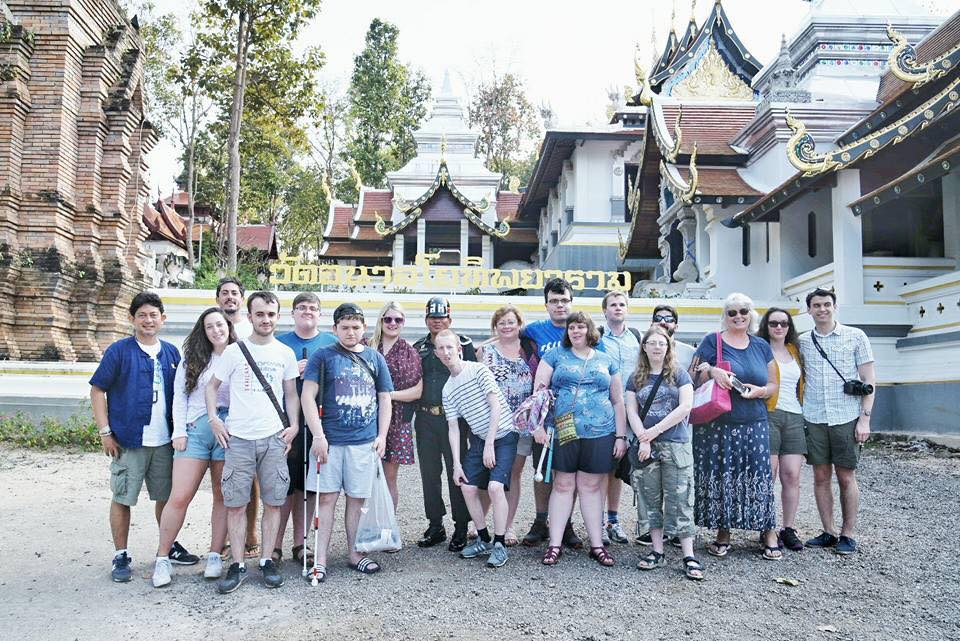 Last group picture in Phayao