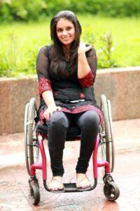Virali Modi - life in a wheelchair