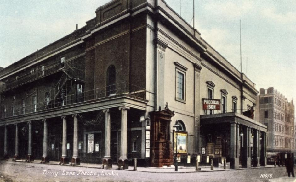 Exterior of Drury Lane Theatre