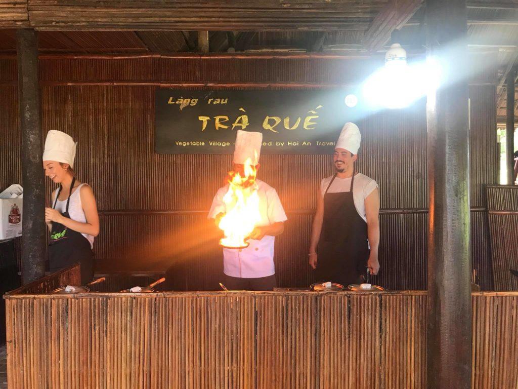 Cooking in Vietnam