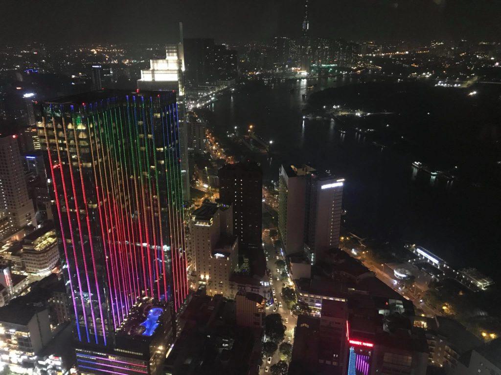 Ho Chi Min City - Night - Skyscrapers